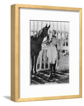 Kathleen Burke, American Film Actress, C1938--Framed Giclee Print
