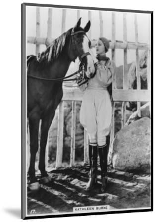 Kathleen Burke, American Film Actress, C1938--Mounted Giclee Print