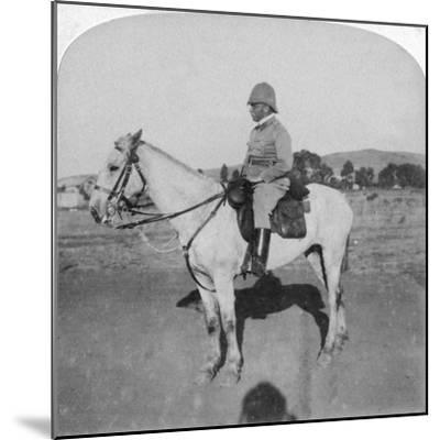 Major-General John French, the Intrepid Cavalry Leader, Pretoria, South Africa, Boer War, 1901-Underwood & Underwood-Mounted Giclee Print