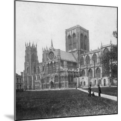 South-East View of York Minster, Yorkshire, Late 19th or Early 20th Century--Mounted Giclee Print
