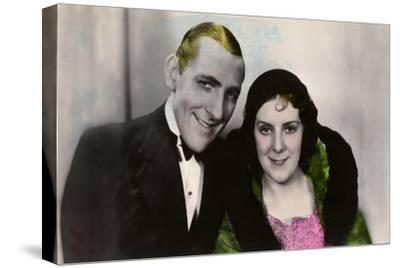 Jack Hulbert (1892-197) and His Wife Cicely Courtneidge (1893-198), English Actors, 20th Century--Stretched Canvas Print