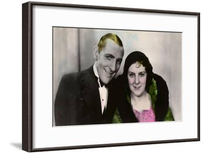 Jack Hulbert (1892-197) and His Wife Cicely Courtneidge (1893-198), English Actors, 20th Century--Framed Giclee Print