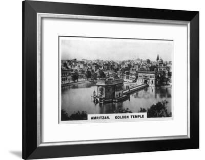 Golden Temple, Amritsar, India, C1925--Framed Giclee Print
