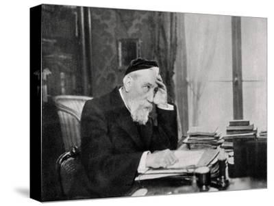 Anatole France, French Writer, 1903--Stretched Canvas Print