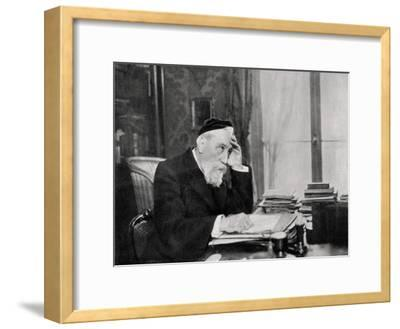 Anatole France, French Writer, 1903--Framed Giclee Print