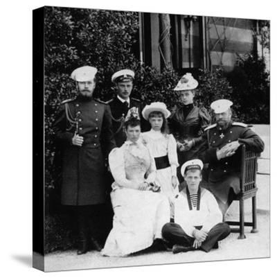 The Russian Imperial Family, C1894--Stretched Canvas Print