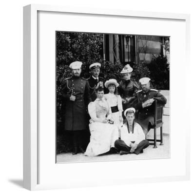 The Russian Imperial Family, C1894--Framed Giclee Print