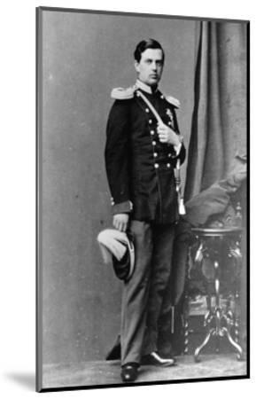 Grand Duke Vladimir Alexandrovich of Russia, C1865-C1867--Mounted Giclee Print