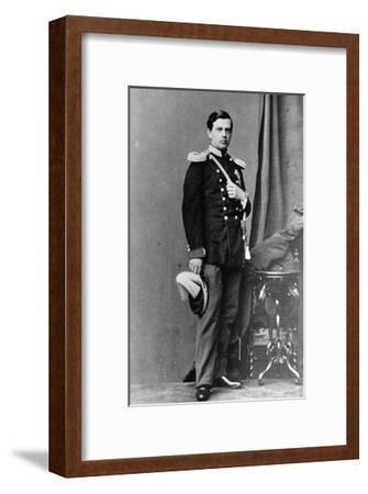 Grand Duke Vladimir Alexandrovich of Russia, C1865-C1867--Framed Giclee Print