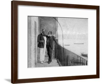 Paul Deroulede, French Author and Politician and Jean Mounet-Sully, French Actor, 1899--Framed Giclee Print