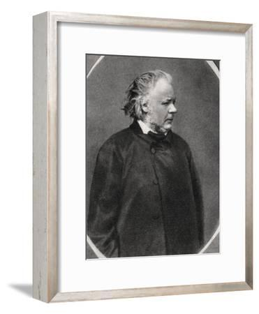 Honore Daumier, French Artist, 1868--Framed Giclee Print