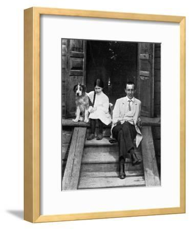 Sergei Rachmaninov, Russian Composer, Pianist and Conductor, Ivanovka, Russia, 1913--Framed Giclee Print