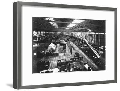 Part of the Production Line at Ford's Highland Park Factory, Detroit, Michigan, USA, C1914--Framed Giclee Print