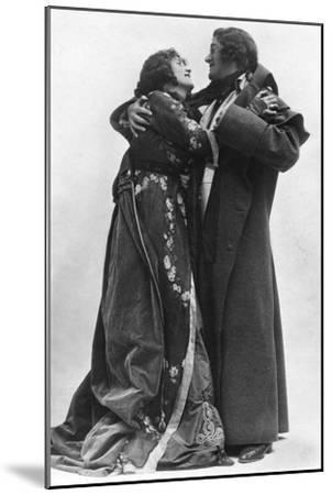 Julia Neilson and Fred Terry in the Scarlet Pimpernel, C1905- Ellis & Walery-Mounted Giclee Print
