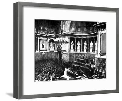 The Chamber of the French Senate, Paris, France, 1926--Framed Giclee Print
