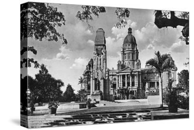 War Memorial and City Hall, Durban, South Africa--Stretched Canvas Print