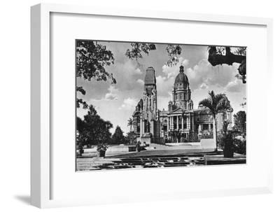 War Memorial and City Hall, Durban, South Africa--Framed Giclee Print