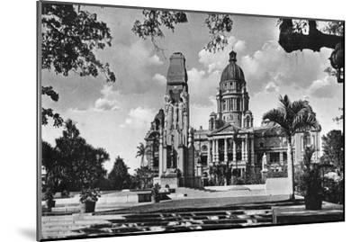 War Memorial and City Hall, Durban, South Africa--Mounted Giclee Print