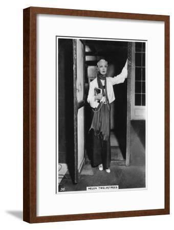 Helen Twelvetrees, American Stage and Film Actress, C1938--Framed Giclee Print