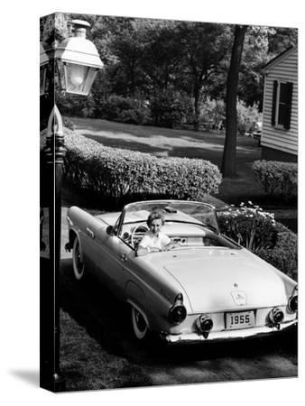 Ford Thunderbird, 1955--Stretched Canvas Print
