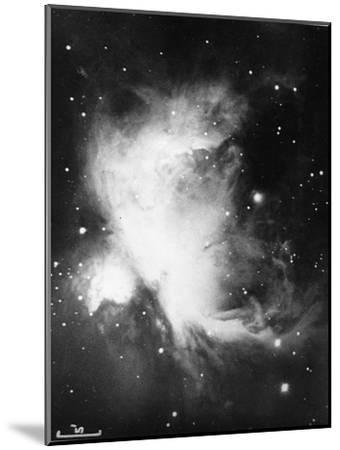 Great Nebula in Orion (NGC 1976 - M4), 16 November 1898--Mounted Giclee Print