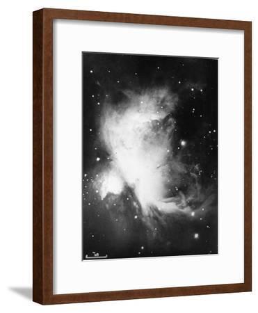 Great Nebula in Orion (NGC 1976 - M4), 16 November 1898--Framed Giclee Print