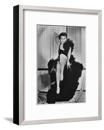 Suzanne Kaaren, American B-Movie Actress, C1938--Framed Giclee Print