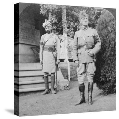 Lord Roberts, Commander in Chief of British Armies, South Africa, Boer War, 1900-1901-Underwood & Underwood-Stretched Canvas Print