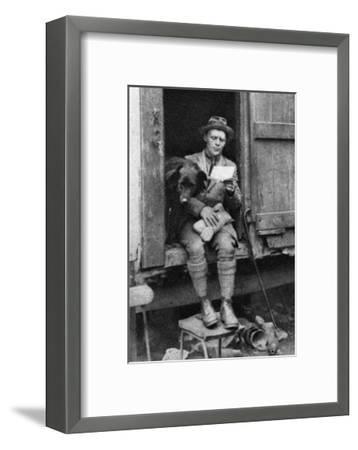 George Donald, Scottish Shepherd, Hyde Park, London, 1926-1927--Framed Giclee Print