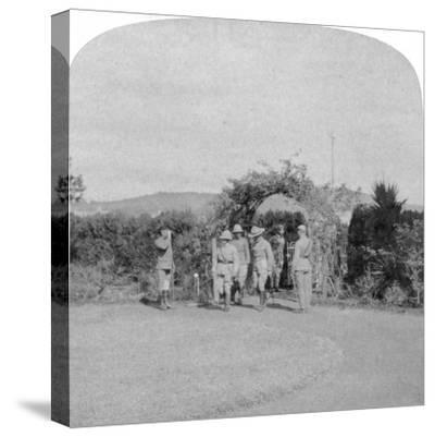 Field Marshal Lord Roberts and Major General Baden-Powell, Pretoria, South Africa, 1901-Underwood & Underwood-Stretched Canvas Print