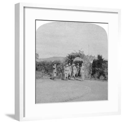Field Marshal Lord Roberts and Major General Baden-Powell, Pretoria, South Africa, 1901-Underwood & Underwood-Framed Giclee Print