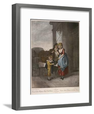 Round and Sound Fivepence a Pound Duke Cherries, Cries of London, C1870-Francis Wheatley-Framed Giclee Print