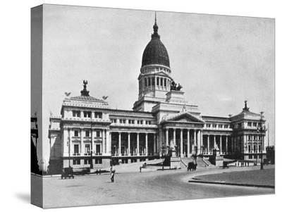 Argentine Congress Hall, Buenos Aires, Argentina--Stretched Canvas Print