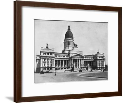 Argentine Congress Hall, Buenos Aires, Argentina--Framed Giclee Print