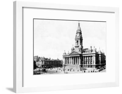 Guildhall, Portsmouth, Hampshire, Early 20th Century--Framed Giclee Print