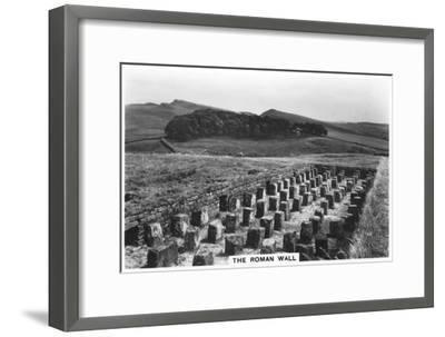 The Roman Wall, Housesteads, Northumberland, 1937--Framed Giclee Print