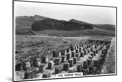The Roman Wall, Housesteads, Northumberland, 1937--Mounted Giclee Print