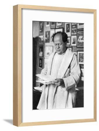 Professor Rene Leriche, French Surgeon and Physiologist, 1939--Framed Giclee Print