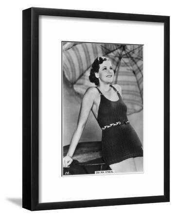Zelma O'Neal, American Actress, Singer, and Dancer, C1938--Framed Giclee Print