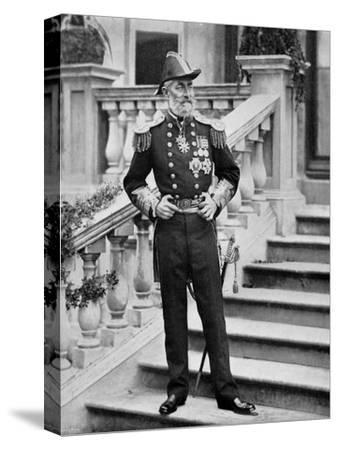Admiral the Earl of Clanwilliam, British Naval Officer, 1896-Gregory & Co-Stretched Canvas Print