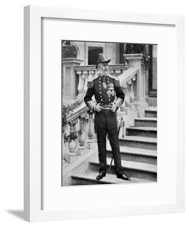 Admiral the Earl of Clanwilliam, British Naval Officer, 1896-Gregory & Co-Framed Giclee Print