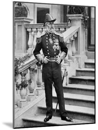 Admiral the Earl of Clanwilliam, British Naval Officer, 1896-Gregory & Co-Mounted Giclee Print