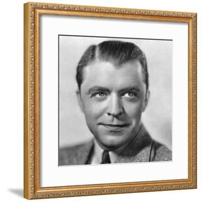 Lyle Talbot, American Actor, 1934-1935--Framed Giclee Print