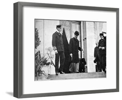 King Christian IX of Denmark (1818-190) with His Grandsons, 1908--Framed Giclee Print