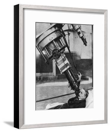 Twenty-Eight-Inch Reflecting Telescope, Greenwich Observatory, London, 1926-1927--Framed Giclee Print