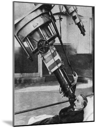 Twenty-Eight-Inch Reflecting Telescope, Greenwich Observatory, London, 1926-1927--Mounted Giclee Print