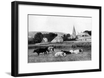 A Village Church, 1926--Framed Giclee Print