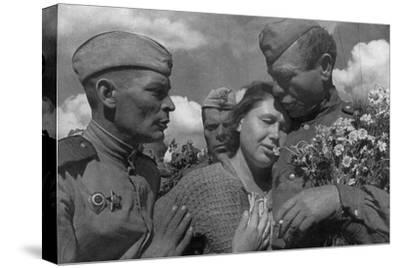 Victory Day, World War II, USSR, 1945--Stretched Canvas Print