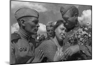 Victory Day, World War II, USSR, 1945--Mounted Giclee Print