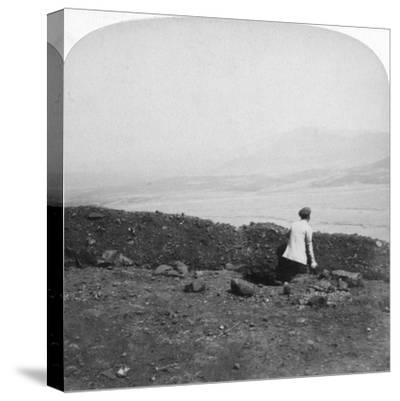 Spion Kop, from a Boer Trench on Krantz Kloot, South Africa, 1901-Underwood & Underwood-Stretched Canvas Print